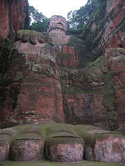 El Colosal Buda de Leshan, China
