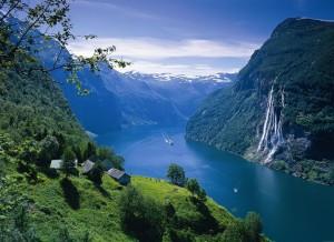 De cruceros por fiordos, orgullos de los noruegos