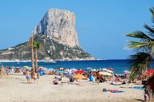 Playa y naturaleza para tus vacaciones en Calpe