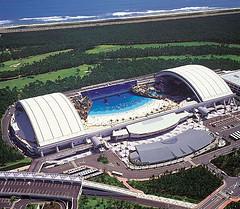 El Seagaia Ocean Dome: la playa artificial inolvidable de Japon
