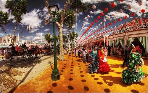 La Feria de Abril de Sevilla