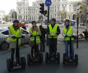 SEGWAY TOURS EN MADRID