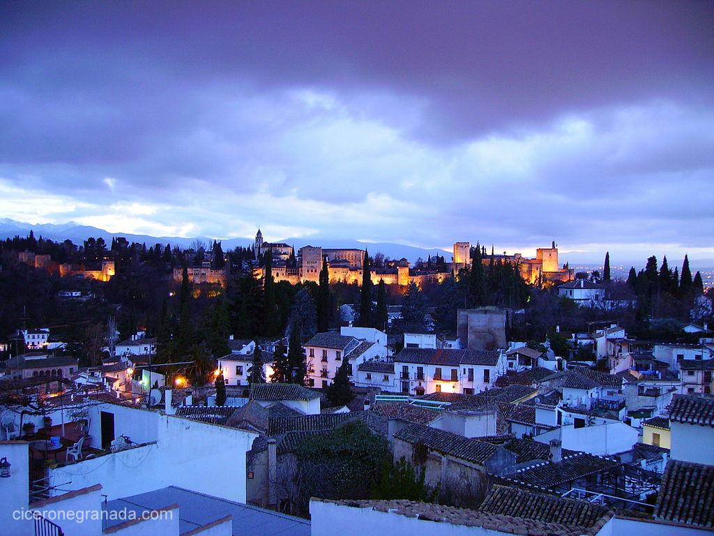 La magia de la luz en Granada