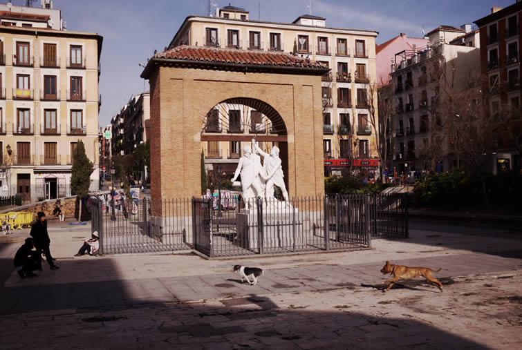 Plaza dos de Mayo, Malasaña Madrid