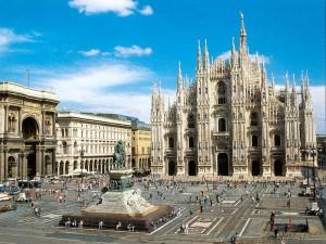 Turismo en el casco histórico de Milán