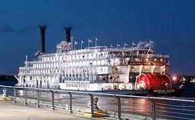 El American Queen: un barco de vapor de nuevo a la moda