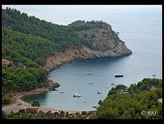 Las bellezas del mediterráneo isla de Mallorca