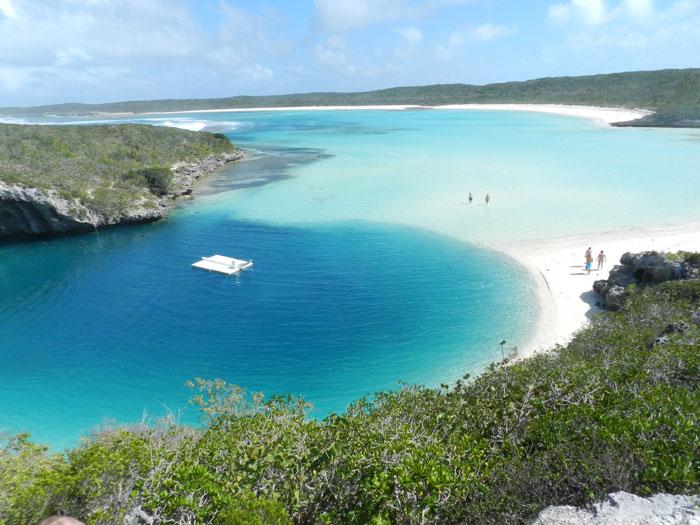 Los fascinantes Agujeros Azules de las Bahamas, Blue Holes
