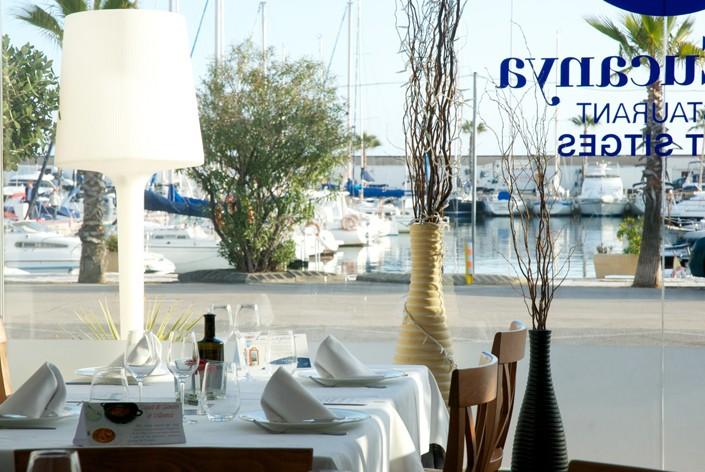 Sitges, la mesa más mediterránea