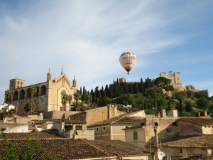 Volar en globo por Mallorca