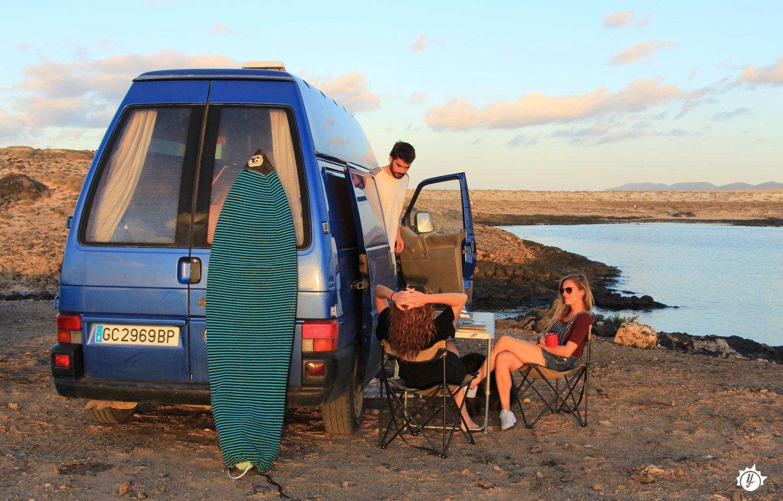 ¿Por qué está tan de moda viajar en furgoneta camper?