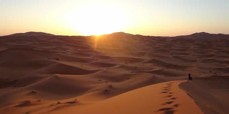 Excursión al desierto de Merzouga desde la Ciudad Roja