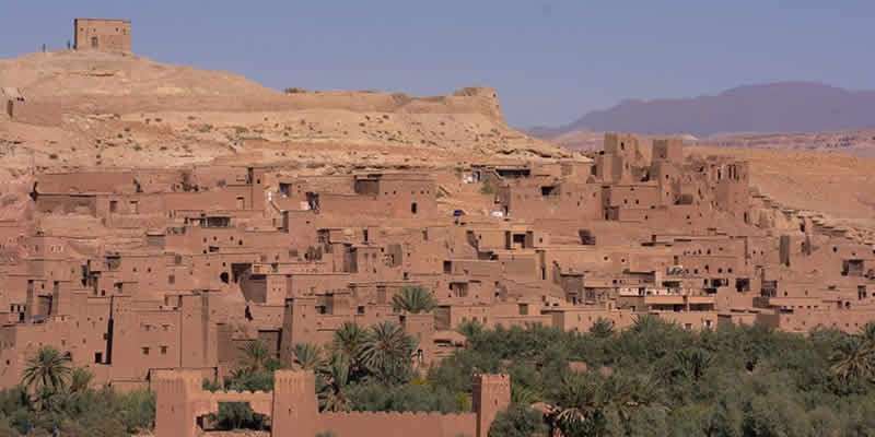 Ruta al desierto desde Marrakech - Kasbah de Ait Ben Haddou