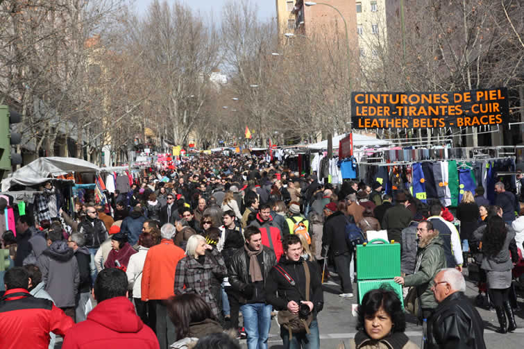 Rastro Madrid la Latina